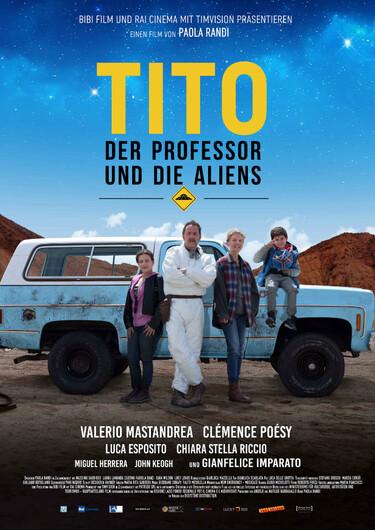 Filmplakat Tito, der Professor und die Aliens