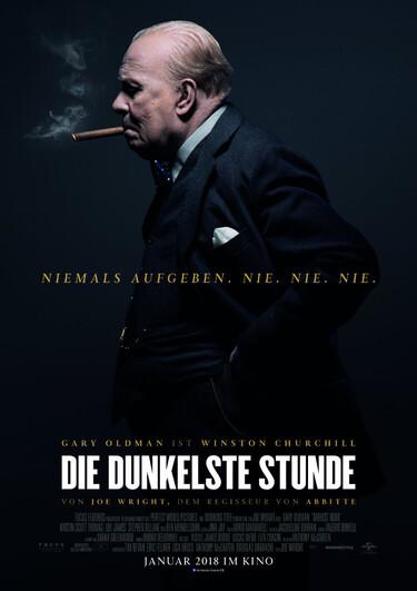 Filmplakat Die dunkelste Stunde
