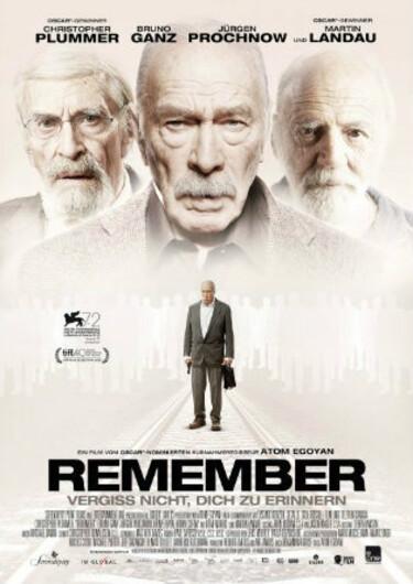 """Filmplakat zu """"Remember"""""""