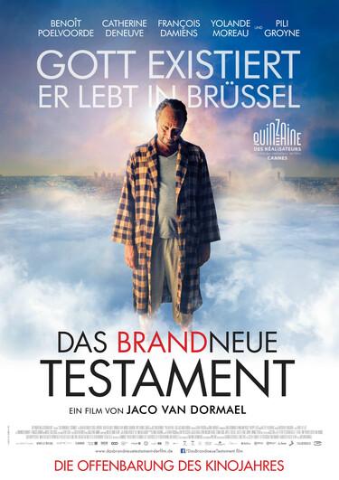 """Filmplakat zu """"Das brandneue Testament"""""""