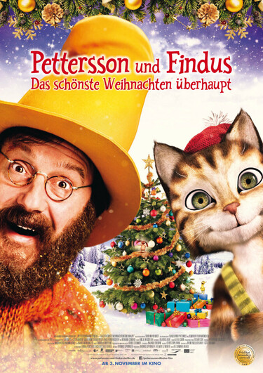 Filmplakat Pettersson und Findus: Das schönste Weihnachten überhaupt