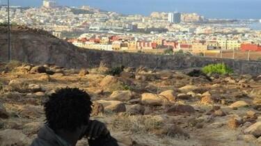 Szenenbild: Blick auf den Ort der Sehnsucht, die spanische Enklave Melilla