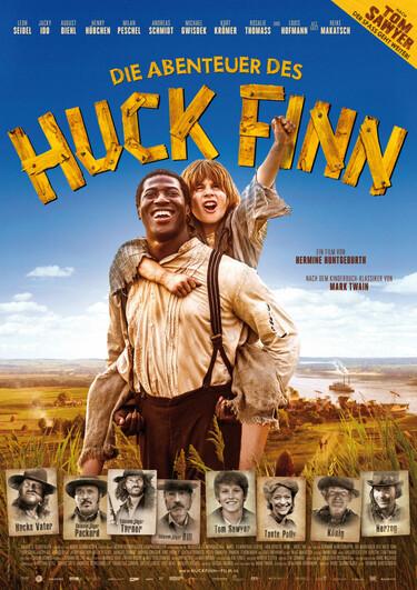Filmplakat Die Abenteuer des Huck Finn