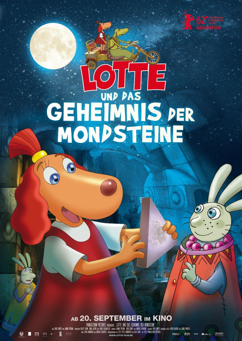 Filmplakat zu Lotte und das Geheimnis der Mondsteine