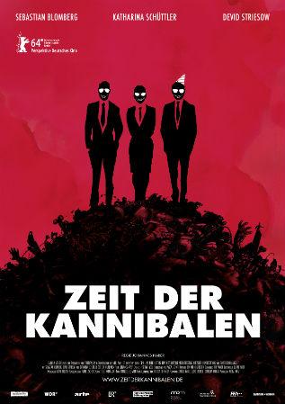 """Filmplakat zu """"Die Zeit der Kannibalen"""""""