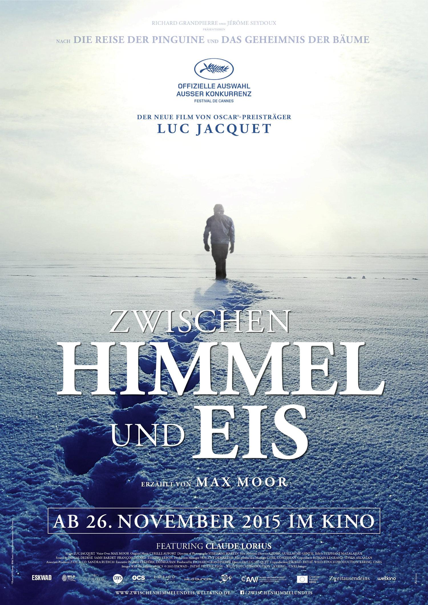 """Filmplakat zu """"Zwischen Himmel und Eis"""""""